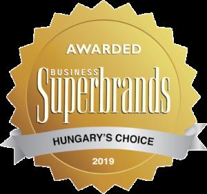 Superbrands díj elnyerése 2019-ben