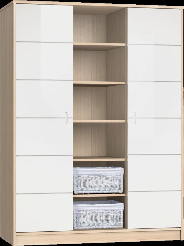 Alda Classic 3 osztású szekrény