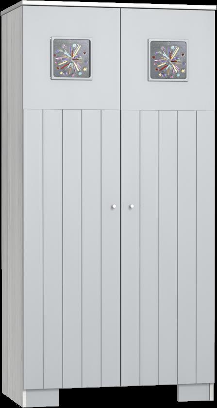 Kamilla Polar 2 osztású szekrény