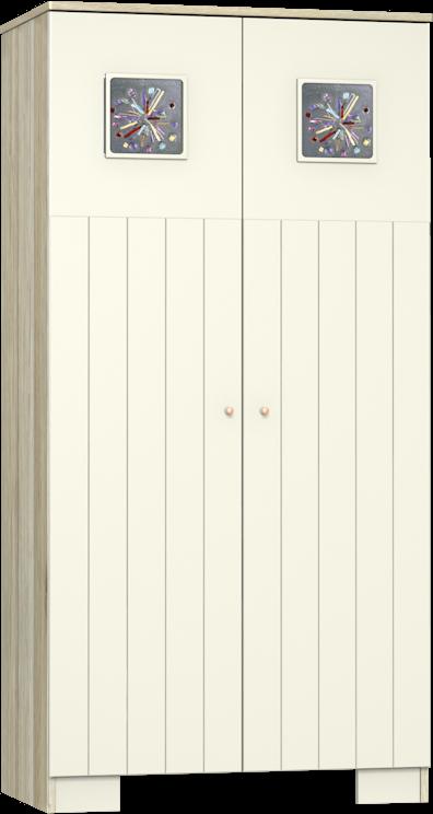 Kamilla Toscana 2 osztású szekrény