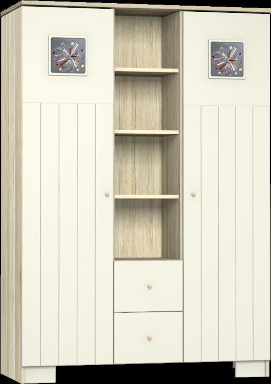 Kamilla Toscana 3 osztású szekrény