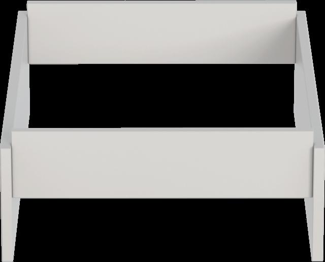 Mia Fehér Kombi komód magasító