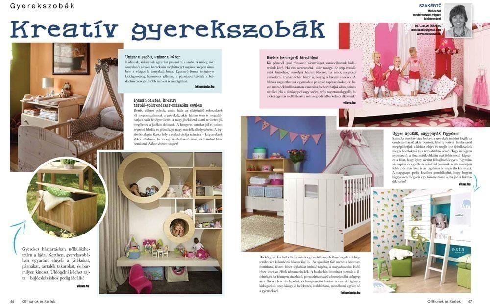 Otthonok és Kertek magazin